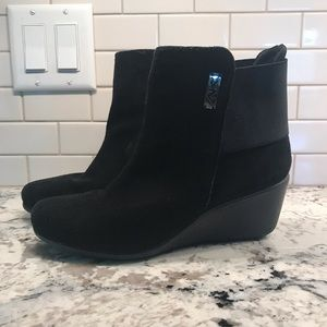 Anne Klein sport ankle booties 8 1/2 leather